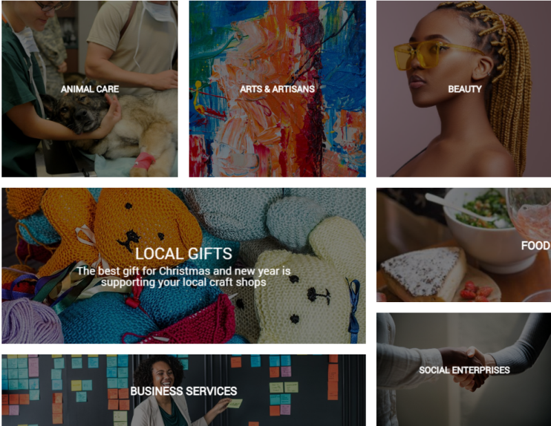 vlife categories local small businesses