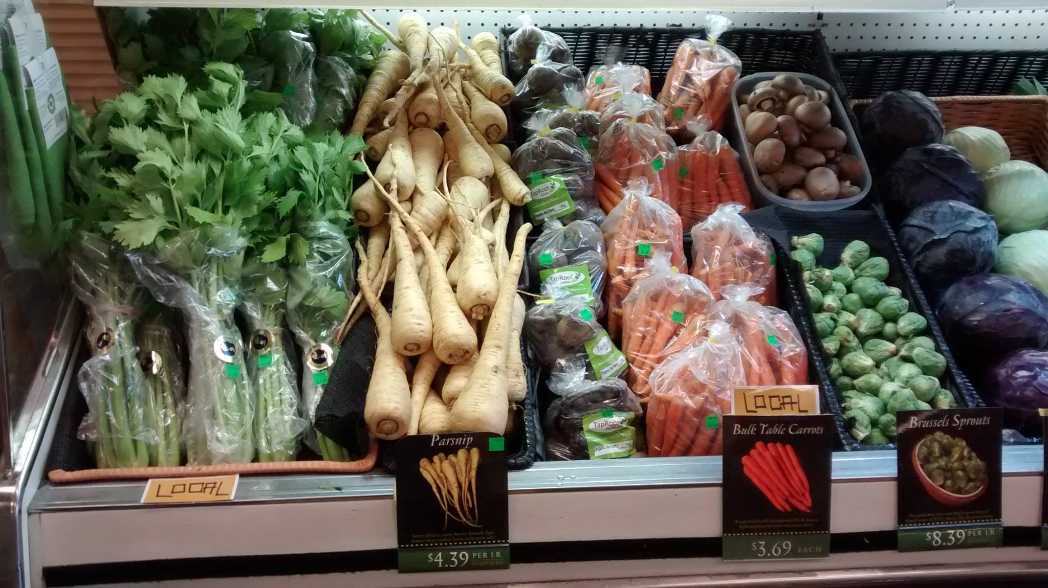 Fresh Produce from Organic Earth Market
