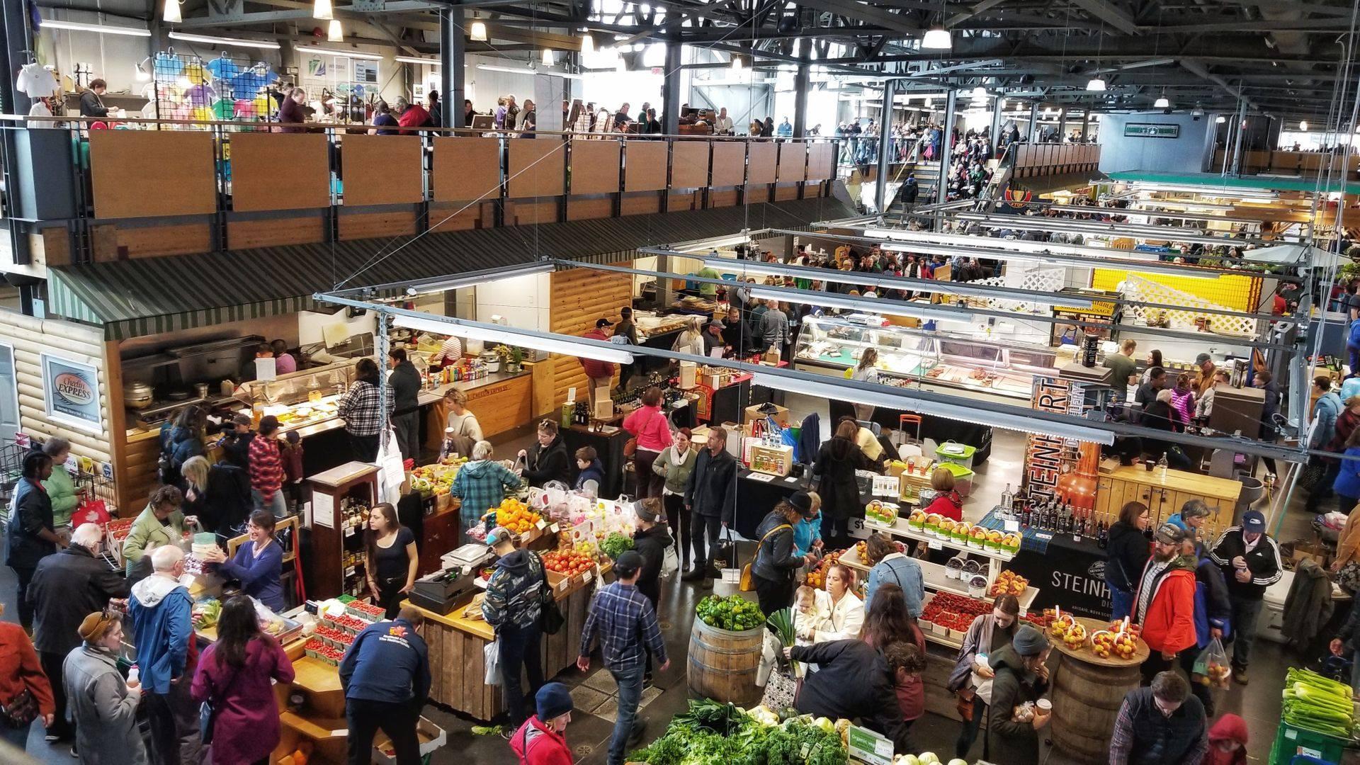 Zero waste options at farmer's markets