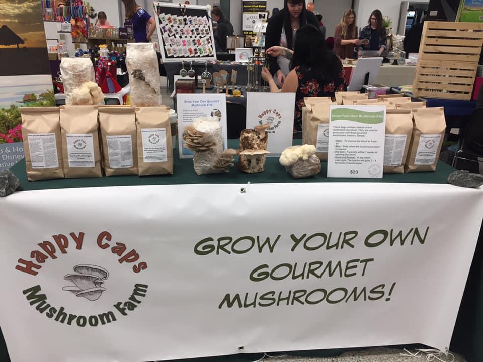 local mushroom producer grow mushroom small business