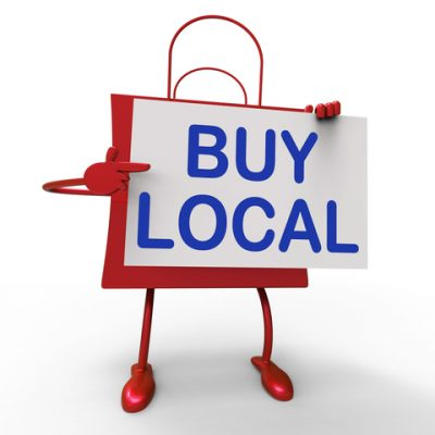 buy local, support local