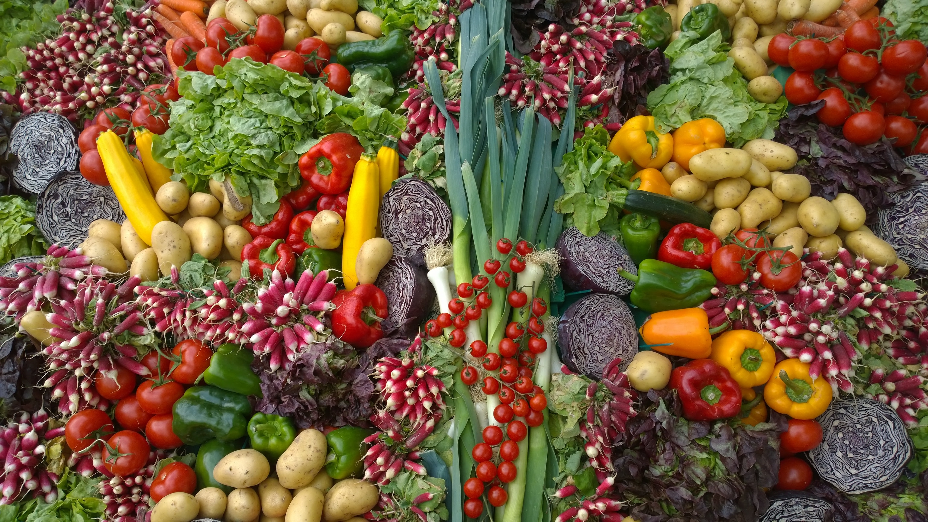 Beautiful array of local produce