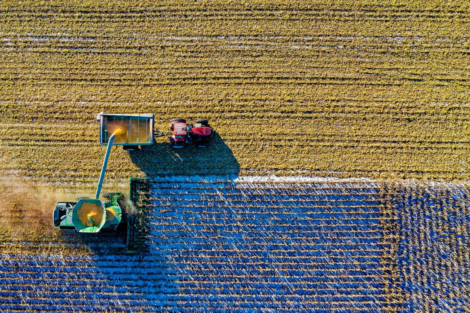 Facroty Farming aerial shot