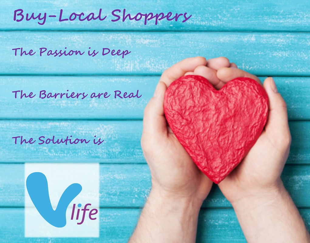 vlife Buy-Local Shopper Survery Results Love