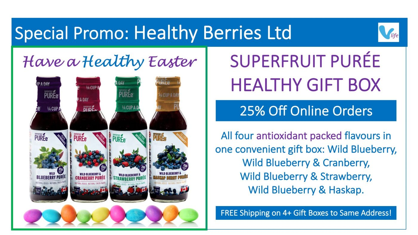 Healthy Berries Easter Gift Box Promo 2021
