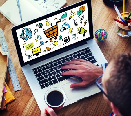 small business online marketing overwhelm